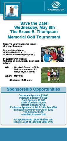 2015 Bruce E. Thompson Memorial Golf Tournament