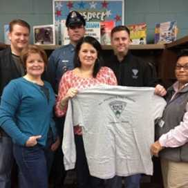 Massachusetts State Police for their donated to the Club!  
